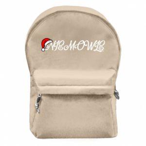 Plecak z przednią kieszenią Boże Narodzenie. Niemowlę