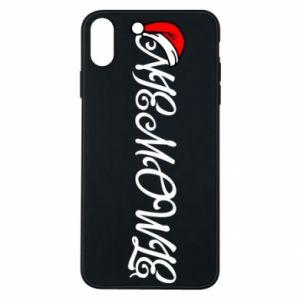 Etui na iPhone Xs Max Boże Narodzenie. Niemowlę