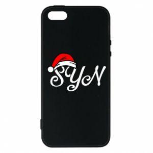 Etui na iPhone 5/5S/SE Boże Narodzenie. Syn