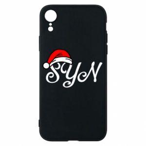 Etui na iPhone XR Boże Narodzenie. Syn