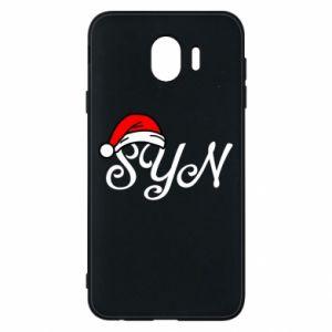 Etui na Samsung J4 Boże Narodzenie. Syn