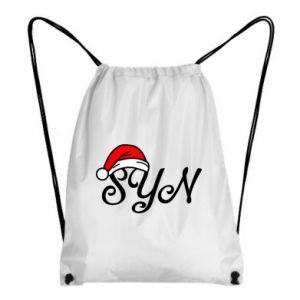 Plecak-worek Boże Narodzenie. Syn