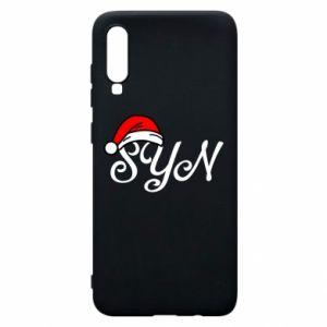 Etui na Samsung A70 Boże Narodzenie. Syn