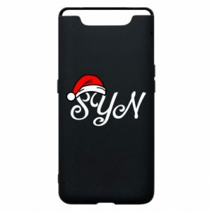 Etui na Samsung A80 Boże Narodzenie. Syn