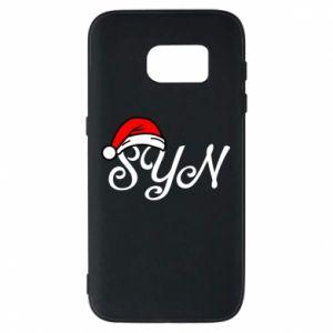 Etui na Samsung S7 Boże Narodzenie. Syn