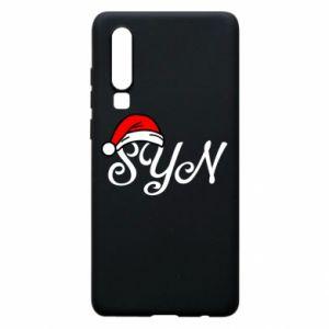 Etui na Huawei P30 Boże Narodzenie. Syn