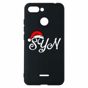 Etui na Xiaomi Redmi 6 Boże Narodzenie. Syn