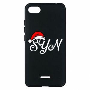 Etui na Xiaomi Redmi 6A Boże Narodzenie. Syn