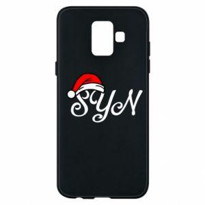 Etui na Samsung A6 2018 Boże Narodzenie. Syn