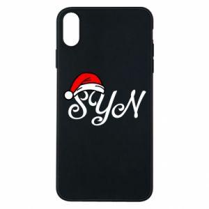 Etui na iPhone Xs Max Boże Narodzenie. Syn