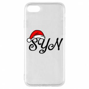 Etui na iPhone 8 Boże Narodzenie. Syn