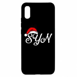 Etui na Xiaomi Redmi 9a Boże Narodzenie. Syn