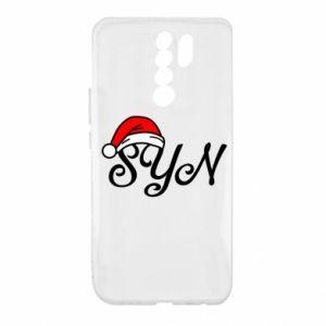 Etui na Xiaomi Redmi 9 Boże Narodzenie. Syn