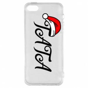 Etui na iPhone 5/5S/SE Boże Narodzenie. Tata
