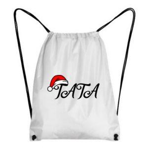 Plecak-worek Boże Narodzenie. Tata