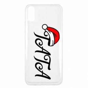 Etui na Xiaomi Redmi 9a Boże Narodzenie. Tata