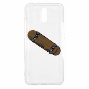Etui na Nokia 2.3 Brązowa deskorolka