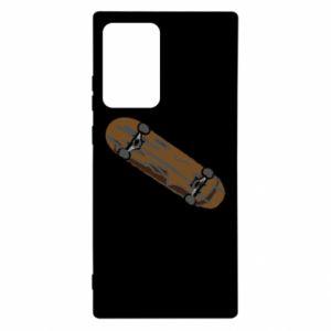 Etui na Samsung Note 20 Ultra Brązowa deskorolka