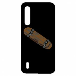 Etui na Xiaomi Mi9 Lite Brązowa deskorolka