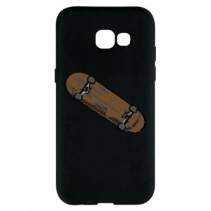 Phone case for Samsung A5 2017 Brown skate board