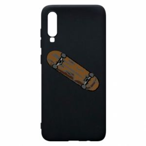 Phone case for Samsung A70 Brown skate board