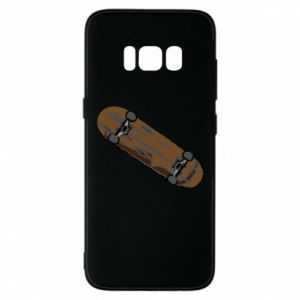 Phone case for Samsung S8 Brown skate board