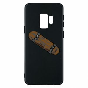 Phone case for Samsung S9 Brown skate board