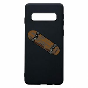 Phone case for Samsung S10 Brown skate board