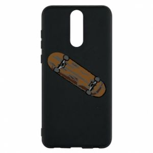 Phone case for Huawei Mate 10 Lite Brown skate board