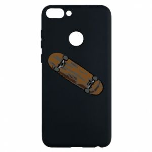 Phone case for Huawei P Smart Brown skate board