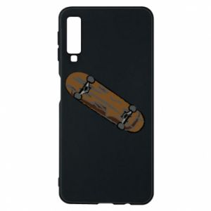 Phone case for Samsung A7 2018 Brown skate board