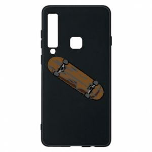 Phone case for Samsung A9 2018 Brown skate board
