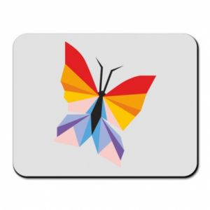Mouse pad Bright butterfly abstraction - PrintSalon