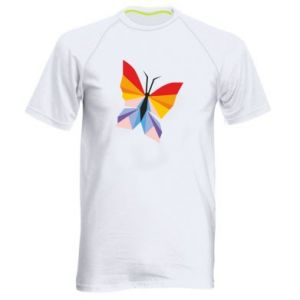 Men's sports t-shirt Bright butterfly abstraction - PrintSalon