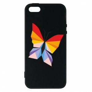 Phone case for iPhone 5/5S/SE Bright butterfly abstraction - PrintSalon