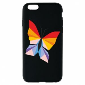 Phone case for iPhone 6/6S Bright butterfly abstraction - PrintSalon