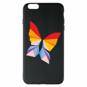 Phone case for iPhone 6 Plus/6S Plus Bright butterfly abstraction - PrintSalon