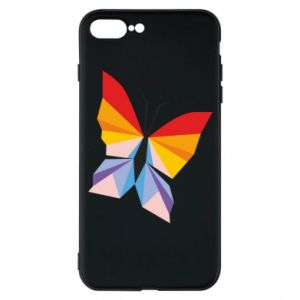 Phone case for iPhone 7 Plus Bright butterfly abstraction - PrintSalon