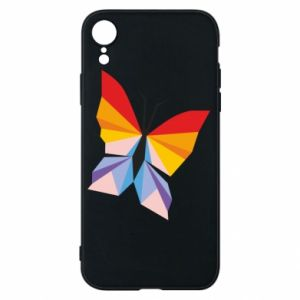 Phone case for iPhone XR Bright butterfly abstraction - PrintSalon