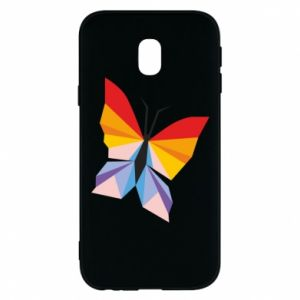 Phone case for Samsung J3 2017 Bright butterfly abstraction - PrintSalon