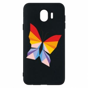 Phone case for Samsung J4 Bright butterfly abstraction - PrintSalon