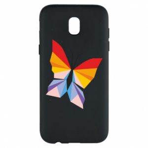 Phone case for Samsung J5 2017 Bright butterfly abstraction - PrintSalon