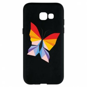 Phone case for Samsung A5 2017 Bright butterfly abstraction - PrintSalon