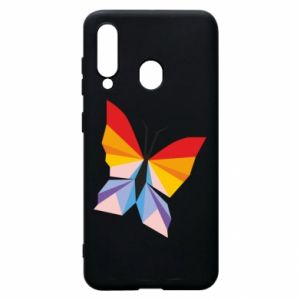Phone case for Samsung A60 Bright butterfly abstraction - PrintSalon