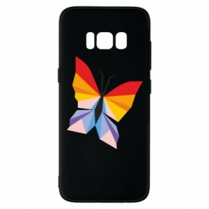 Phone case for Samsung S8 Bright butterfly abstraction - PrintSalon