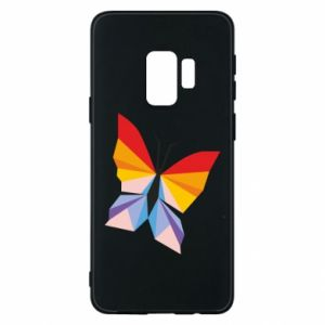 Phone case for Samsung S9 Bright butterfly abstraction - PrintSalon