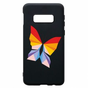Phone case for Samsung S10e Bright butterfly abstraction - PrintSalon