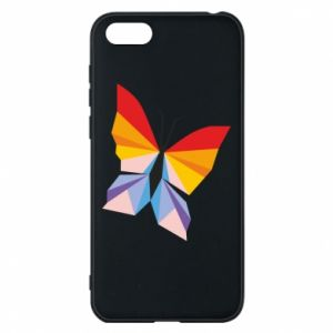 Phone case for Huawei Y5 2018 Bright butterfly abstraction - PrintSalon