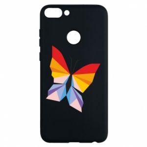 Phone case for Huawei P Smart Bright butterfly abstraction - PrintSalon