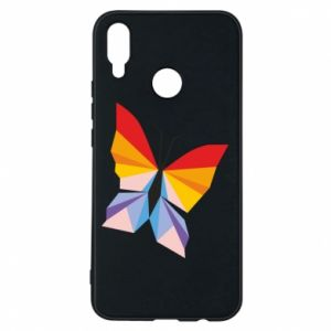 Phone case for Huawei P Smart Plus Bright butterfly abstraction - PrintSalon